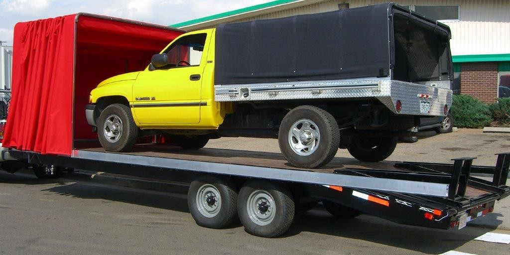 New Soft Shell - Flatbeds / Flat Bed Trailers